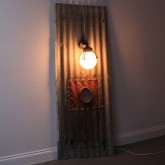Corrugated iron,rubber and Bulbus Light On Diag LR