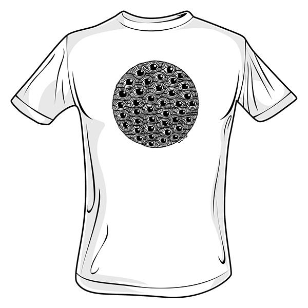 Quanta Eyes T Shirts 600